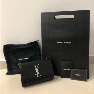 Handbags - KATE SMALL IN GRAIN DE POUDRE EMBOSSED LEATHER
